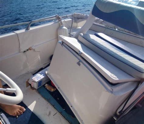 jet ski crashes into boat in comino two injured - Jet Ski Crashes Into Boat