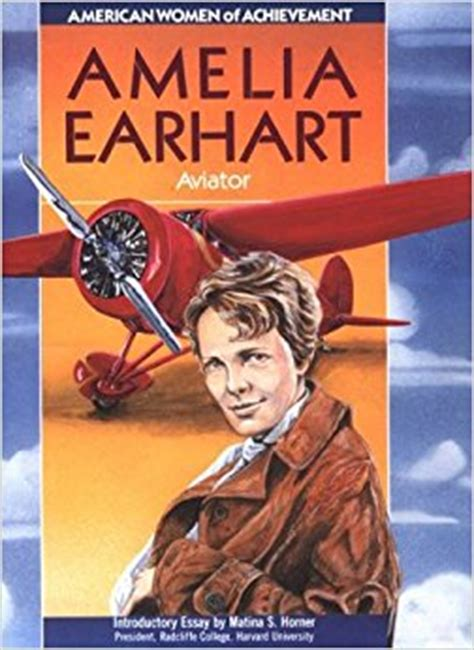 biography book on amelia earhart amazon com amelia earhart women of achievement