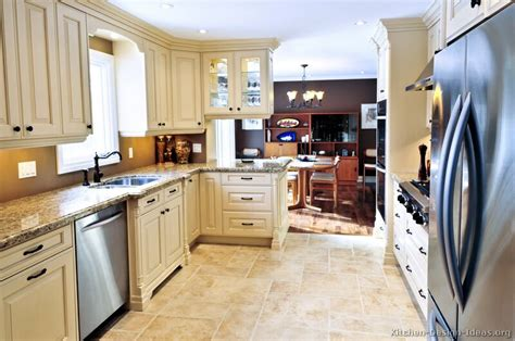 antique cream kitchen cabinets pictures of kitchens traditional off white antique