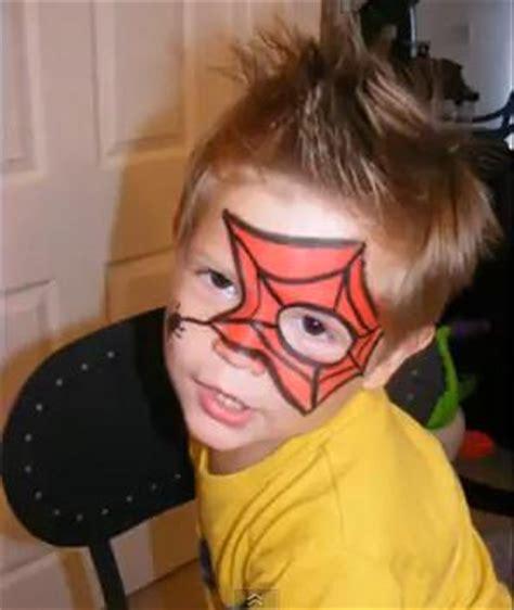 imagenes de halloween para pintar la cara maquillaje artistico spiderman