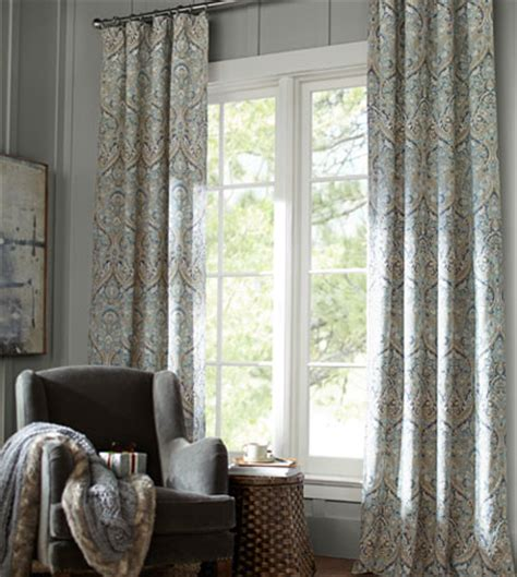 window treatments pottery barn curtains drapes pottery barn