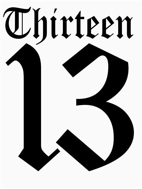 """13, TEAM SPORTS, NUMBER 13, THIRTEEN, THIRTEENTH, ONE"