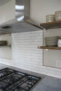 backsplash trim strips white tiled backsplash schluter search kitchen inspiration warm