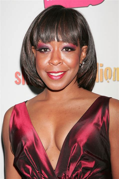 Tichina Arnold Hairstyles by Tichina Arnold Cut With Bangs Hairstyles