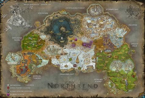 wow map world of warcraft northrend minecraft project