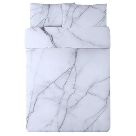 marble bed sheets white marble duvet set so that s cool