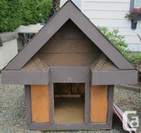 custom dog houses for sale custom dog house for sale in chilliwack british columbia classifieds canadianlisted com
