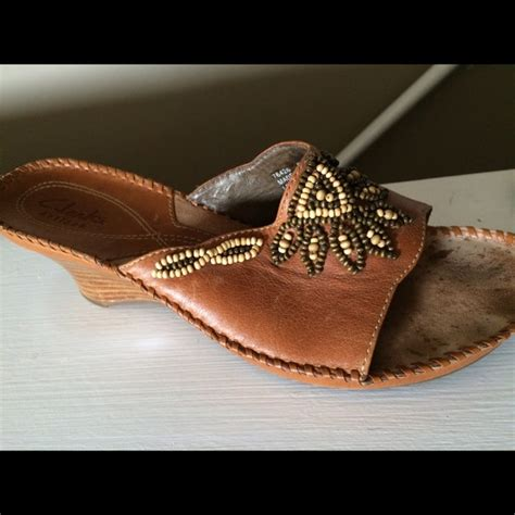 76 clarks shoes clarks 8 indian beaded sandals from
