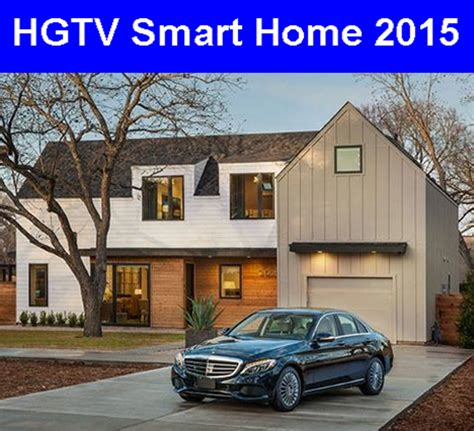 Smart Home Sweepstakes - hgtv second chance 2015 autos post