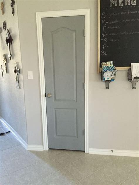 valspar stone mason gray  liven  interior doors