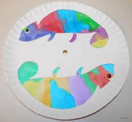 mixed up chameleon template tippytoe crafts colorful chameleons