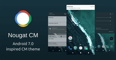 android themes ui download android 7 0 nougat cyanogenmod themes custom rom