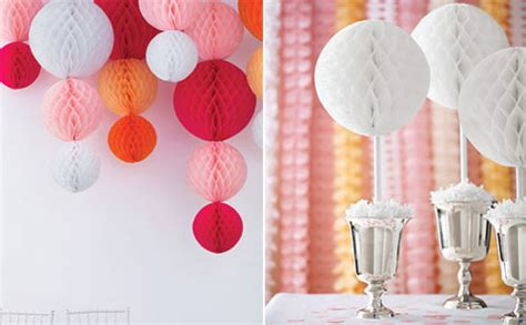 How To Make Tissue Paper Balls Decorations - paper balls decor lushlee