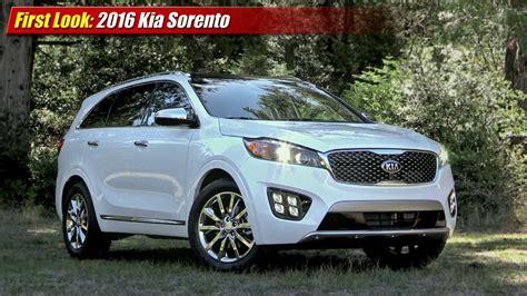 2016 Kia Sorento Availability Look 2016 Kia Sorento Testdriven Tv