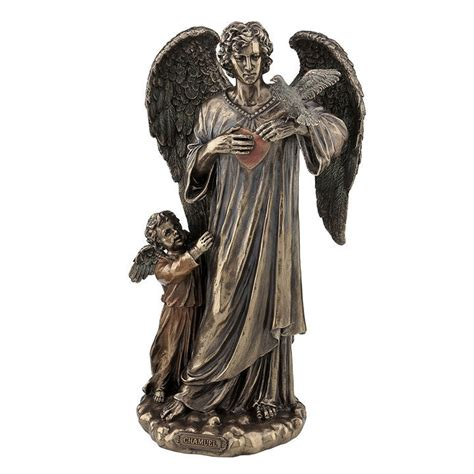 Peace Sign Home Decor Archangel Chamuel Statue Figure Sculpture And 50 Similar Items