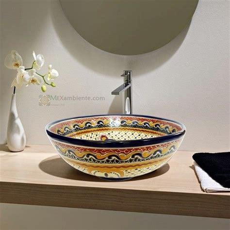 Mediterrane Badezimmer Fliesen 687 by 22 Best Bunte Mexikanische Aufsatzwaschbecken Images On
