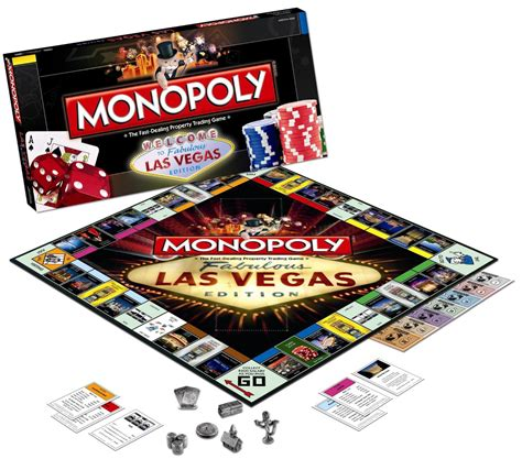 Best Game To Win Money In Vegas - monopoly las vegas edition board games messiah