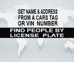License Plate Search Owner Lookup License Plate Lookup