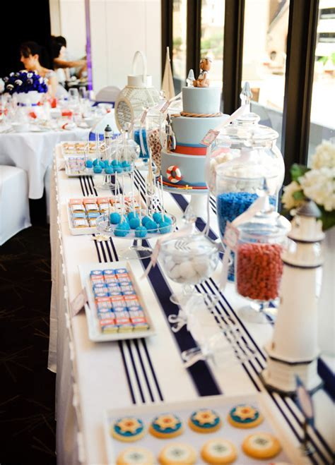 Elegant Nautical Christening // Hostess with the Mostess®