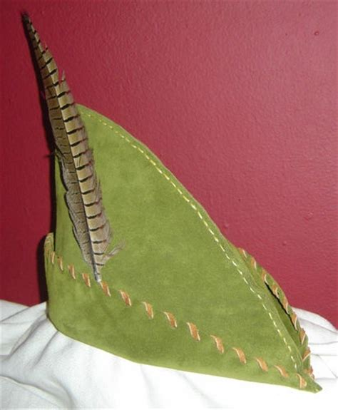 How To Make A Robin Hat Out Of Paper - leather robin hat pan archer dress up for