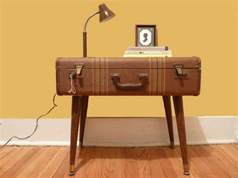 Suitcase Table by 40 Creative Ways Of Re Using Suitcases