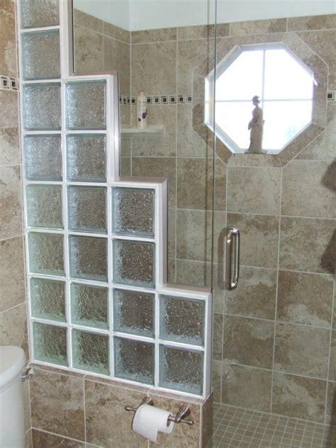 glasbausteine bad glasbausteine f 252 r dusche eleganter look renovieren