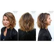 The Gallery For  &gt Highlights In Brown Hair Before And After