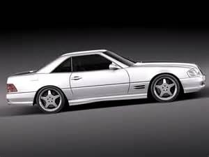 Mercedes 1989 Models Mercedes Sl500 Amg R129 1989 2001 3d Model 3d Model Max