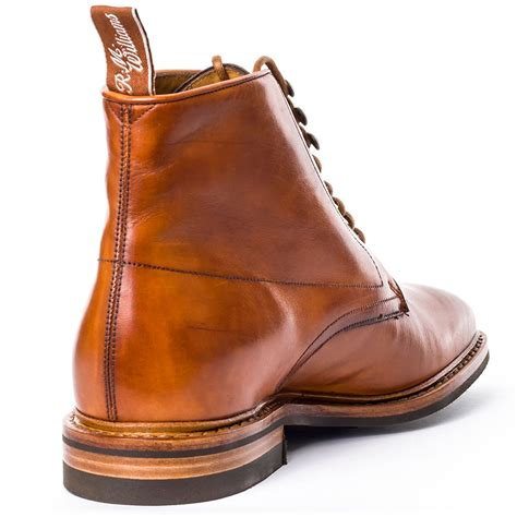 m s mens boots r m williams chiseltoe mens boots in cognac