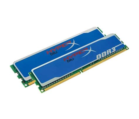 Ram Ddr3 Pc12800 8gb kingston ddr3 8gb 2x4096mb pc12800 1600mhz hyperx cl9 memoria ram