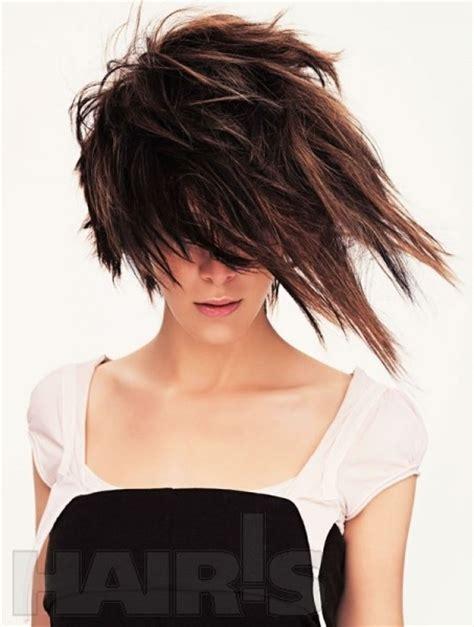 edgy sophisticated asymmetrical haircuts asymmetric hairstyles hair 2 pinterest