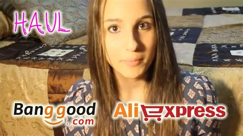 aliexpress vs banggood haul aliexpress y banggood mylisla youtube