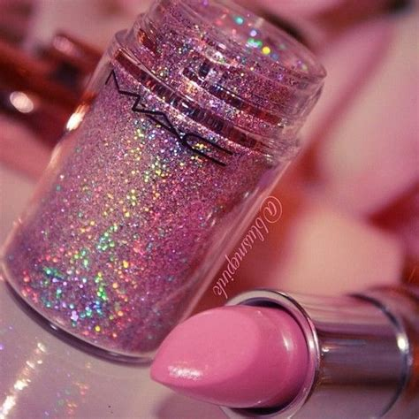 glitter wallpaper for mac glittery shadow and mac lipstick cosmetics pinterest