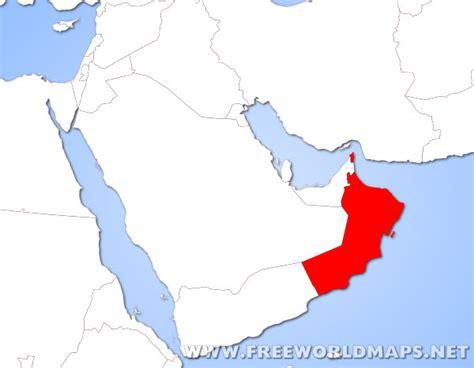 oman location in world map oman on world map factsofbelgium