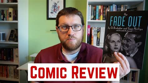 libro the fade out deluxe the fade out deluxe hardcover comic book review youtube