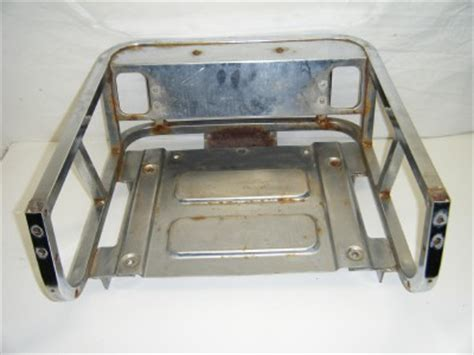 Bumper Luggage Rack by 84 85 86 Yamaha Enticer Et340 340 340t Track Rear