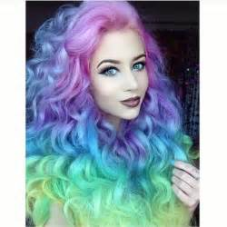 unicorn hair color 355 best mermaid unicorn rainbow hair images on