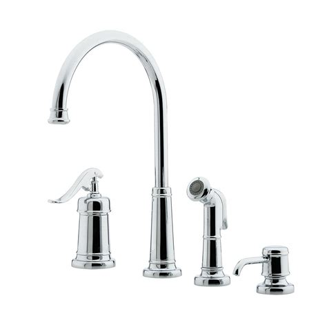 pfister cadenza single handle standard kitchen faucet with pfister ashfield single handle standard kitchen faucet in