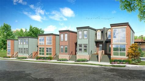 avondale townhome development hickory place grows