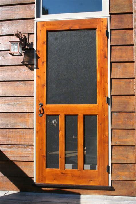 choosing  wood screen doors  design doors ideas