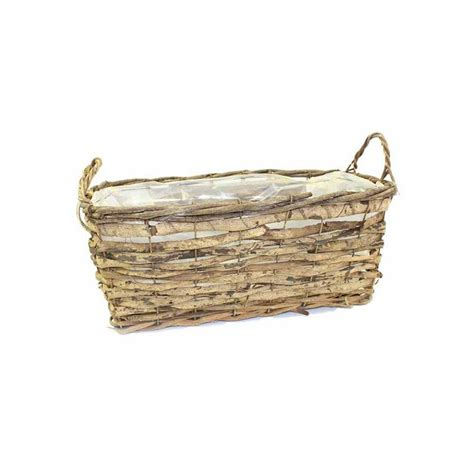 window box baskets vine basket window box planter