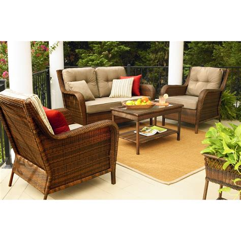 ty pennington patio ty pennington mayfield seating replacement cushion