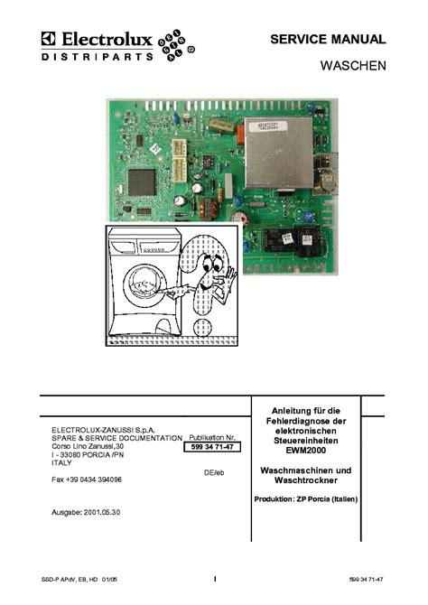 electrolux ewm2000zp service manual free download