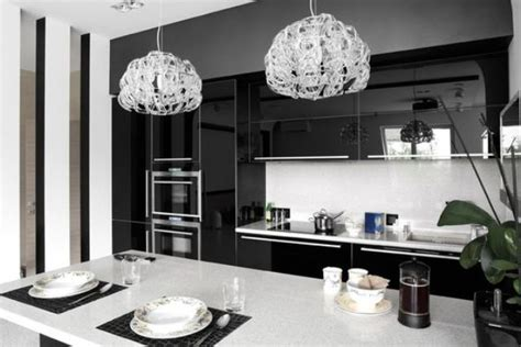 Kitchen Cabinets Black And White 34 Timelessly Black And White Kitchens Digsdigs