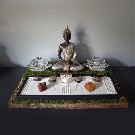 zen garten miniatur set mini zen garden zen gardens and buddhists on