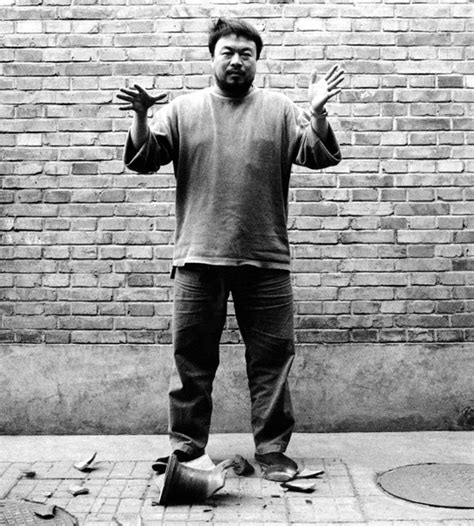 Ai Weiwei Dropping Vase by Artasiapacific Devastating History