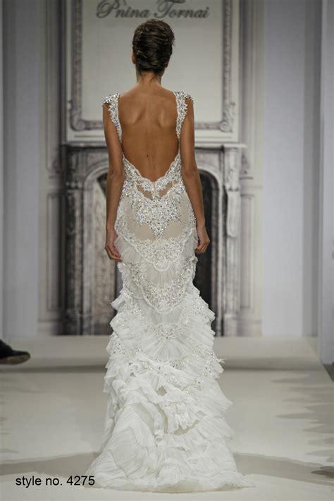 Pre Fall Part 2 Greyish Dress daring and pnina tornai wedding dresses 2014
