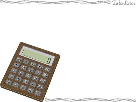 Calculator PPT Backgrounds, Calculator ppt photos
