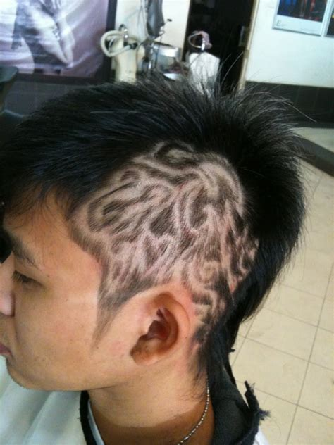 hair tattoo tribal hair pictures designs
