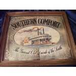southern comfort mirror vintage southern comfort quot steamboat quot large tavern mirror